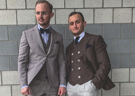 Mode Herren Modern 1 Hochzeit A