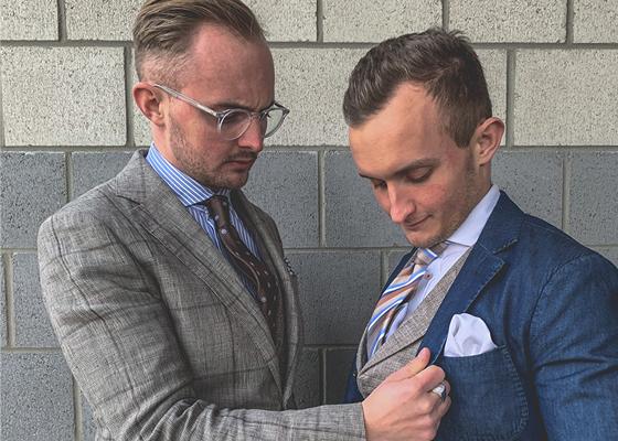 Mode Herren Modern 3 Hochzeit Trauzeuge A