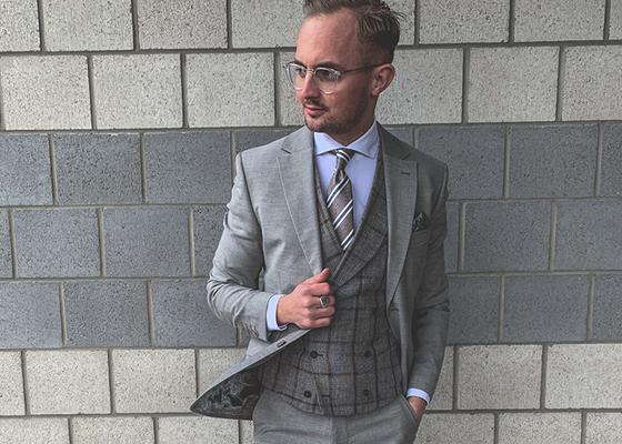 Mode Herren Modern 4 Hochzeit A