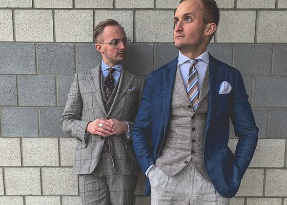 Mode Herren Modern 5 Hochzeit A