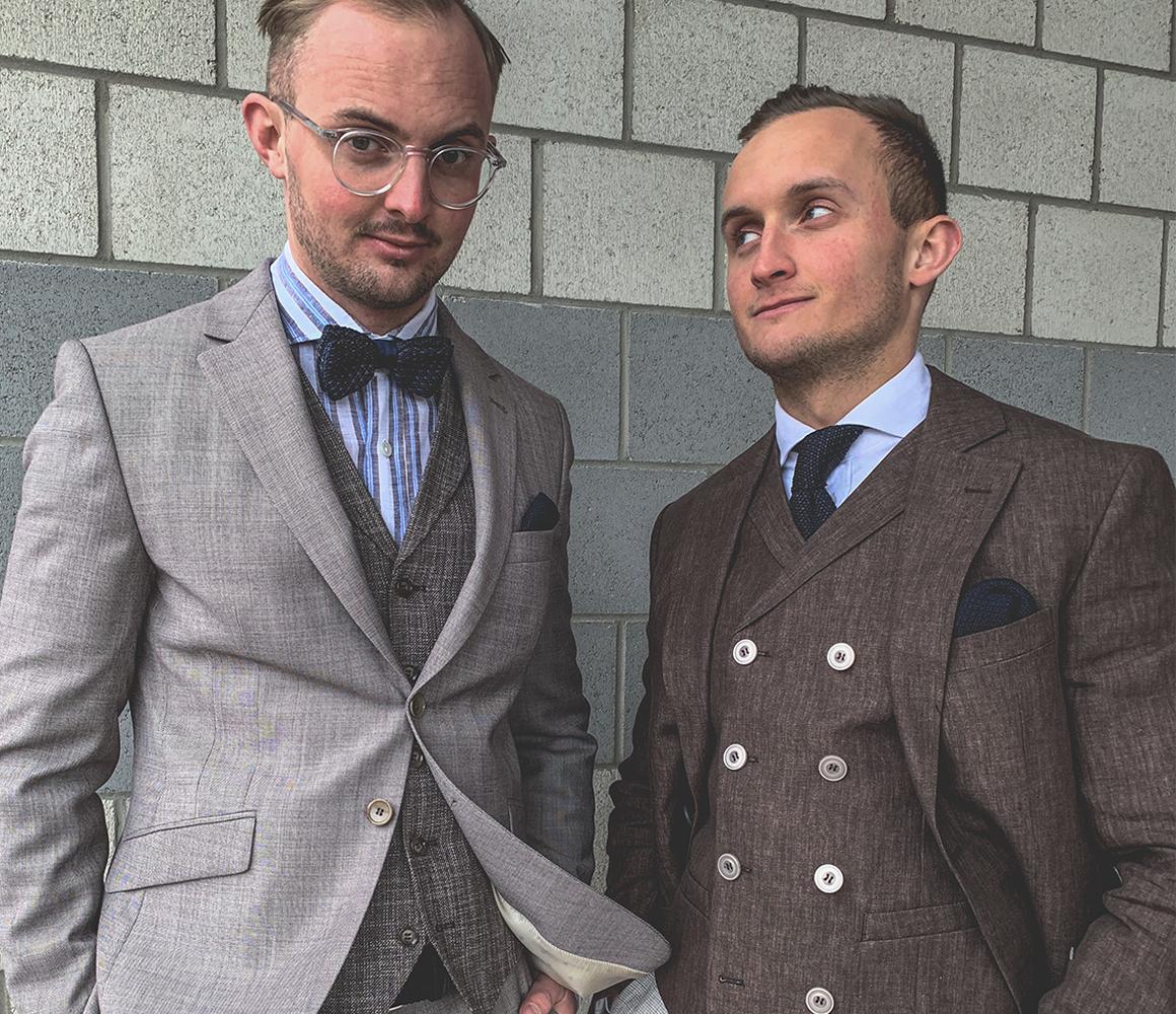 Mode Herren Modern Anzug Hochzeit 1